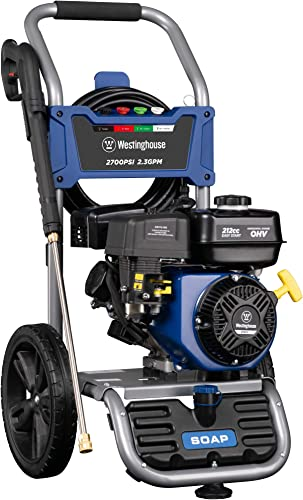 Westinghouse WPX2700 Gasoline Powered Pressure Washer 2700 PSI and 2.3 GPM