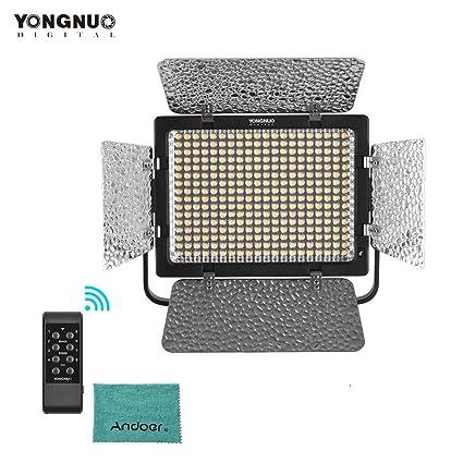 YONGNUO YN320 - Luz LED de vídeo regulable para cámara de fotos ...