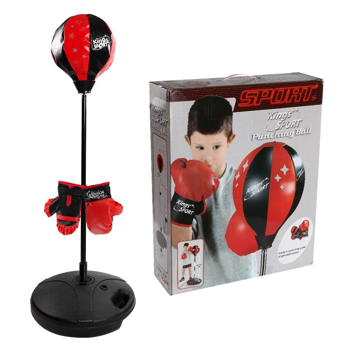 Kids Punching Punching Bagおもちゃセット調節可能なスタンドボクシンググローブSpeed by Ball – by Choice製品 – B074J7YLD8, 着物 卸直営店 京都マルヒサ:ebd5ba88 --- capela.dominiotemporario.com
