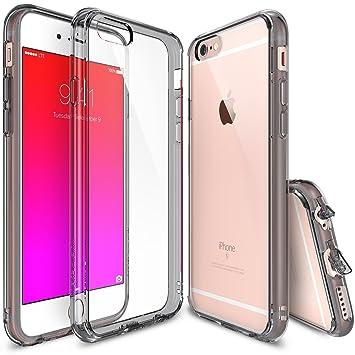 Ringke FUSION Funda Carcasa Protectora Parachoques para iPhone 6 Plus, Humo Negro