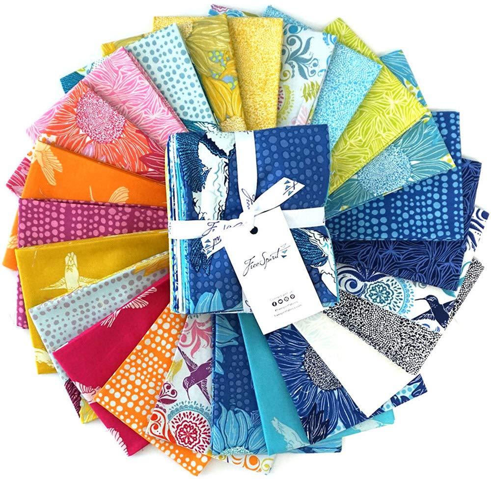 Valori Wells Murmur Fat Quarter Bundle 24 Precut Cotton Fabric Quilting FQs Assortment Free Spirit