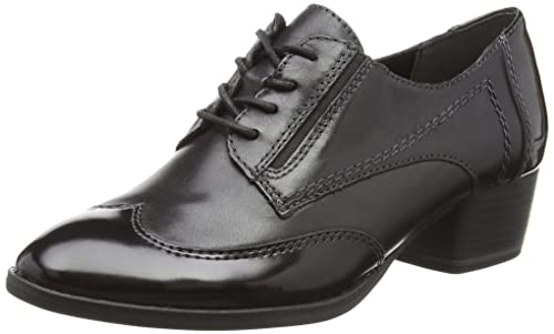 Tamaris Zapatos de Cordones Negro EU 39 a8plM8