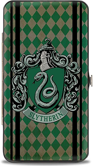 Multicolor 7 x 4 Buckle-Down Womens Hinge Wallet-Harry Potter