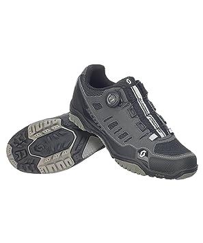 Zapatillas MTB Scott Crus-R Boa Antracita-Negro Talla 46: Amazon.es: Deportes y aire libre