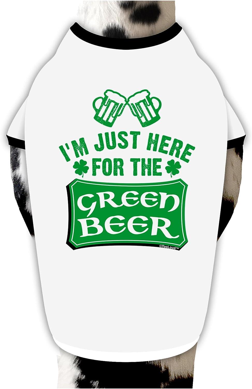 TOOLOUD Green Beer Inside You Dark Hoodie Sweatshirt