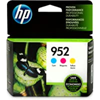HP 952 Cyan, Magenta & Yellow Original Ink Cartridges, 3 pack (N9K27AN),N9K27AN#140