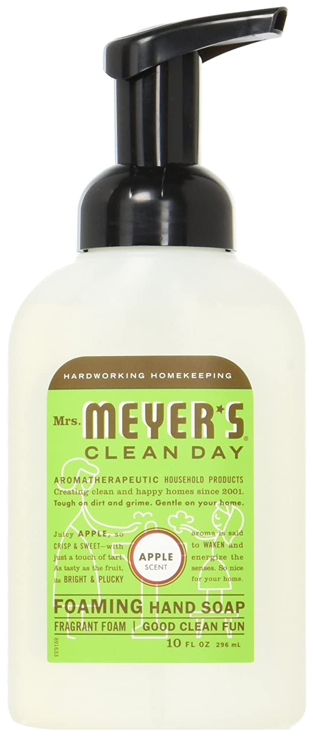 Mrs.Meyers Mrs. Meyers Clean Day Foaming Hand Soap Apple Scent, 10 Oz