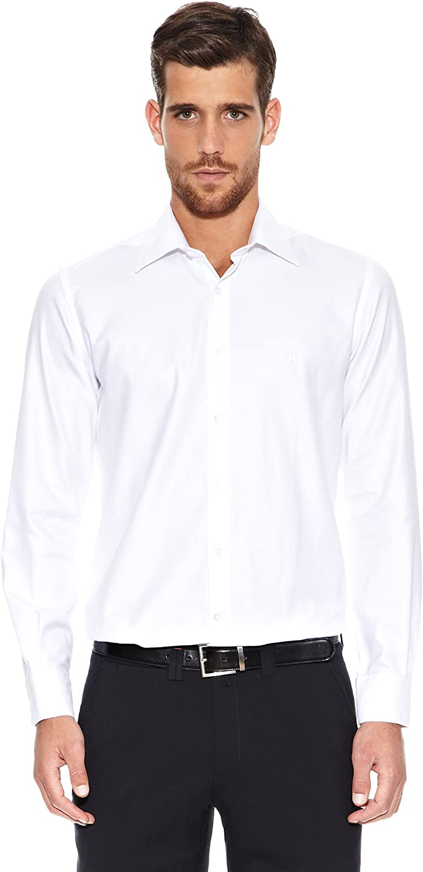 Caramelo Camisa Jean-Marc· Blanco ES 38: Amazon.es: Ropa y accesorios