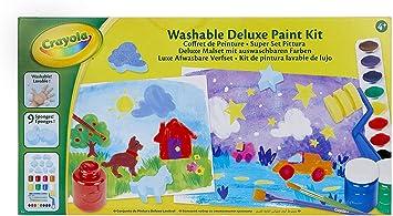 CRAYOLA 54-9039-E-000 - Mi Set de Pintura, mi Estuche de Pintura: Amazon.es: Juguetes y juegos