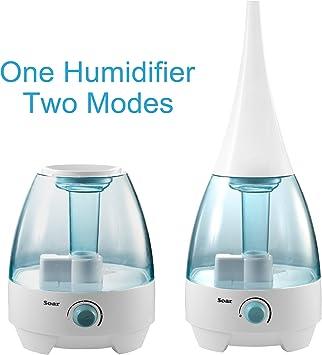 Soar HYD WAL-6702 LED humidificador Incluye ionización | filtro de ...