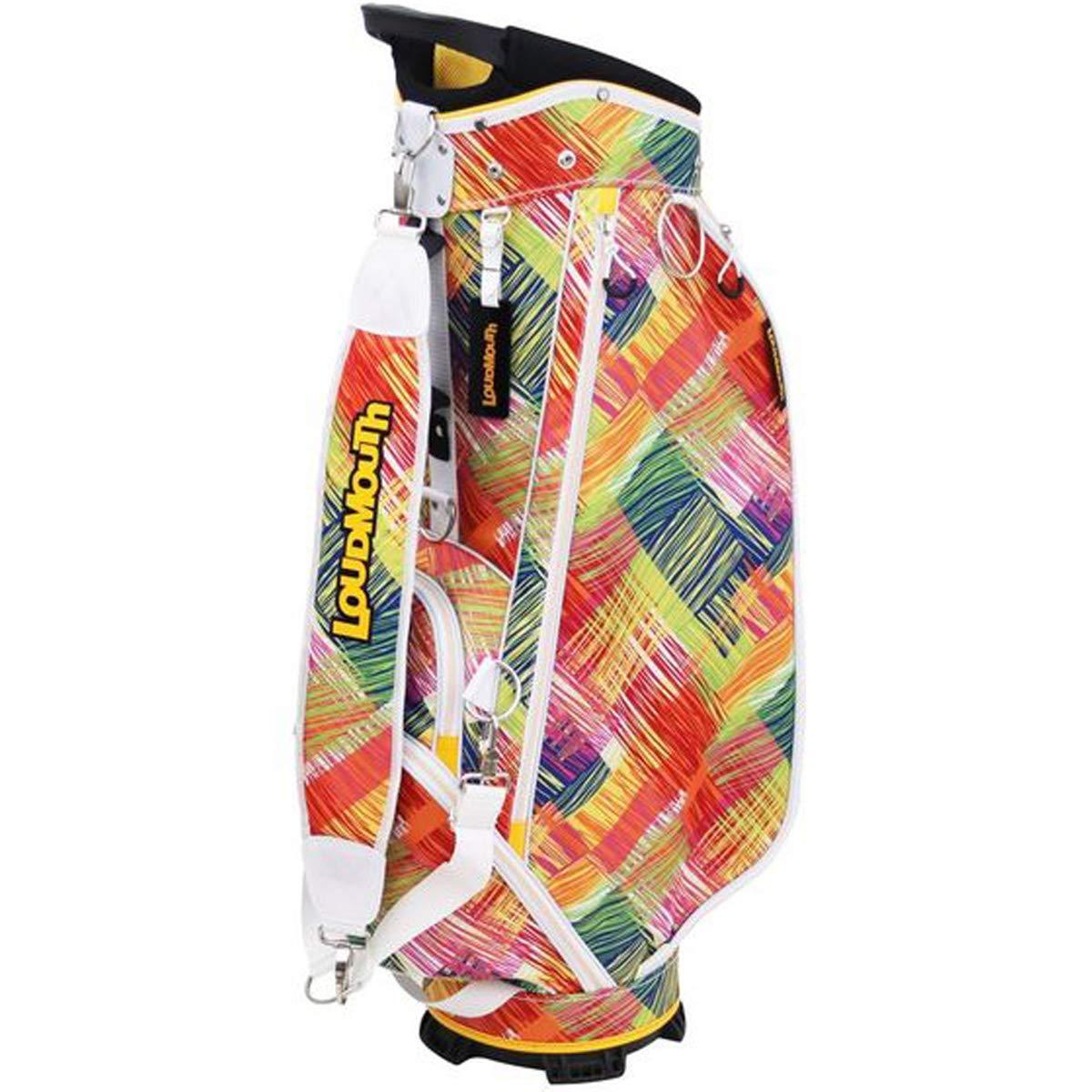 ラウドマウスゴルフ Loud Mouth Golf キャディバッグ キャディバッグ スクラッチイエロー  スクラッチイエロー 156 B07KWYBLLH