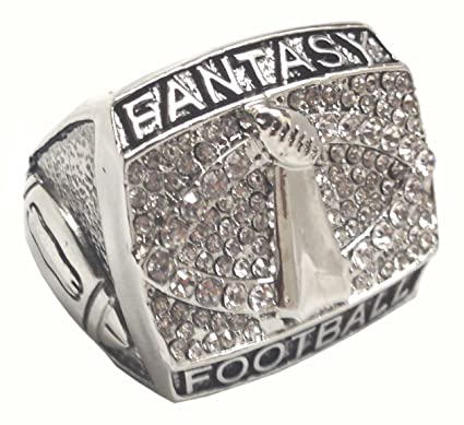 c34a49402a1 Amazon.com   Fantasy Football Championship Ring Trophy Prize   Sports    Outdoors
