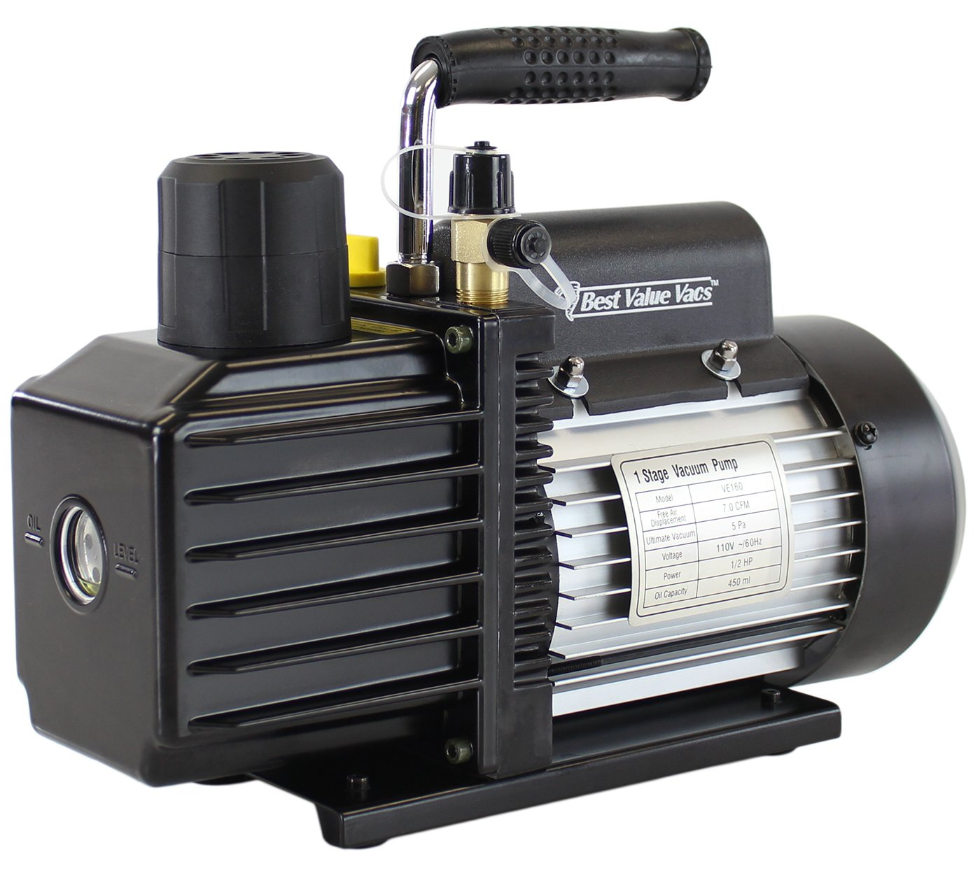 Best Value Vacs VE225 4CFM Two Stage Vacuum Pump