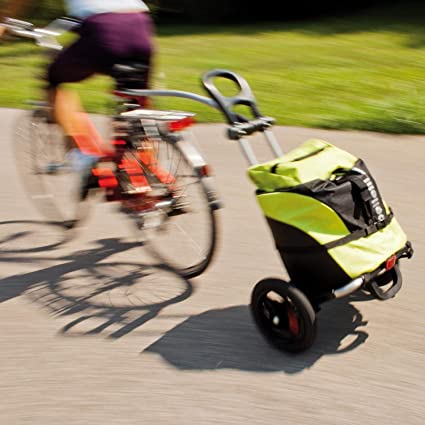 Bellelli BTR003 - Remolque de ciclismo, Verde