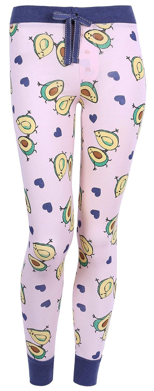 Love to Lounge Pigiama Blu Scuro con Avocado