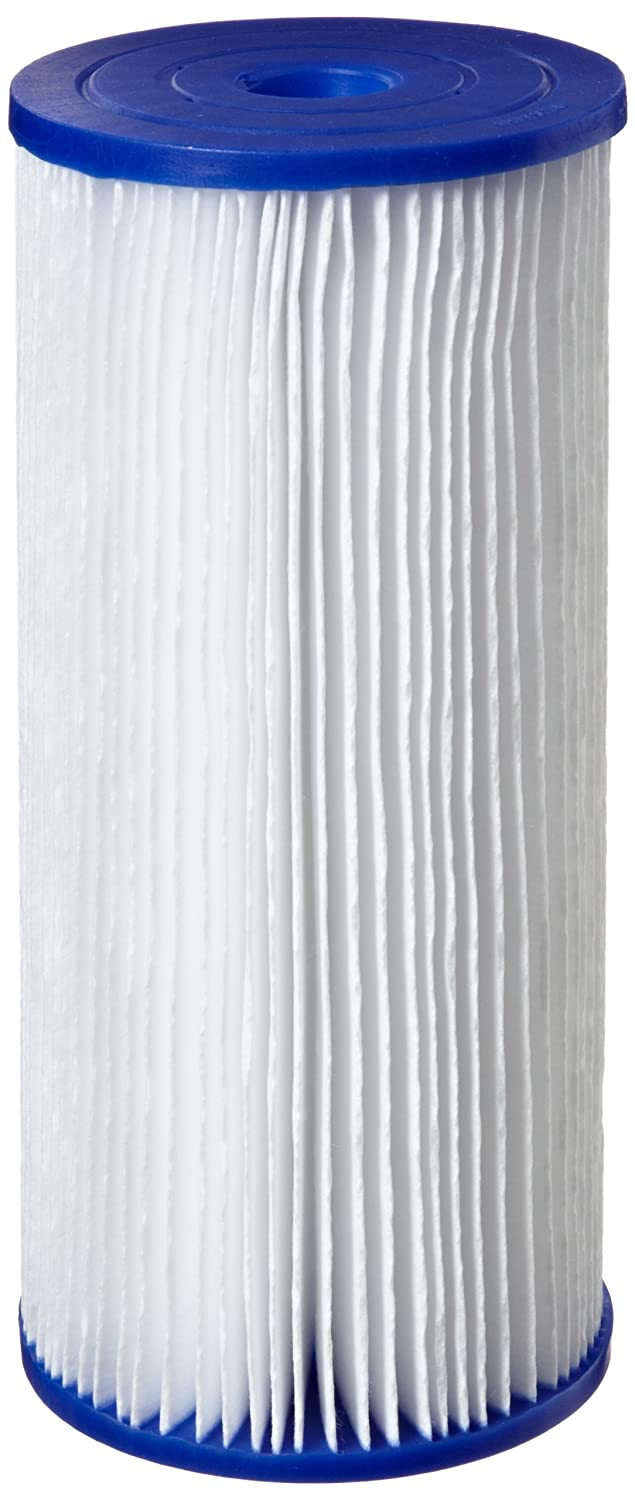 9-3//4-Inch x 4-1//2-Inch 50 Microns Pentek R50-BB Pleated Polyester Filter Cartridge