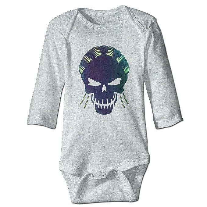 Volte suicidio película Squad tarea Comic fuerza X Character Logo bebé Pelele de manga larga trajes de fresno: Amazon.es: Ropa y accesorios