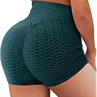 YOFIT Scrunch Butt Lifting Shorts for Women Gym Workout Spandex Booty Shorts Yoga Pole Dance Fitness