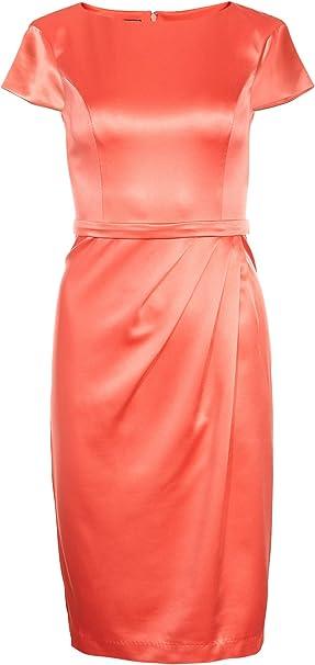 Apart Kleid Koralle De 42 Amazon De Bekleidung