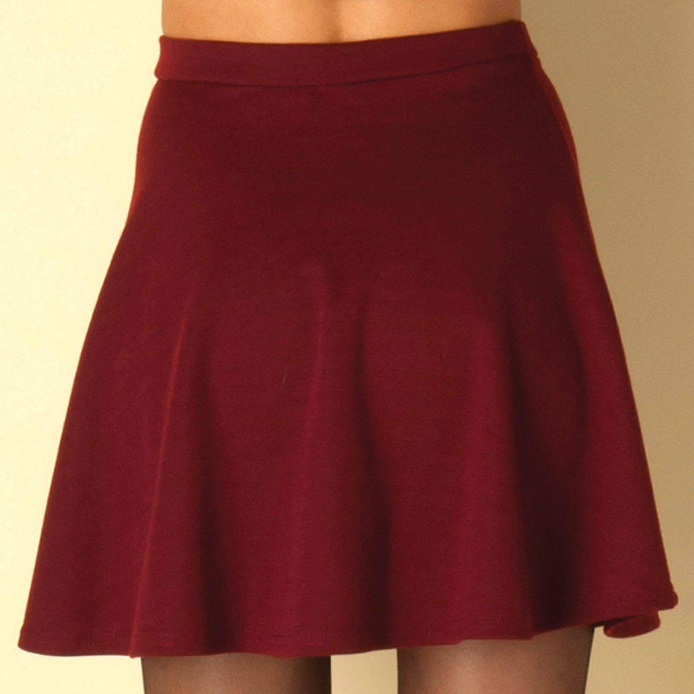 Falda de Patinadora ClubL (Rojo): Amazon.es: Ropa y accesorios
