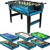 10 Combination Multi Game Table With Billiards, Push Hockey, Foosball, Ping  Pong,