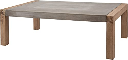 Dimond Home Large Arctic Coffee Table, 53 x 32 x 18