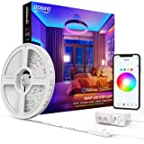 Smart LED Strip Lights 16.4ft Gosund WiFi RGB Tape Light Strips Works with Alexa Google Home, Sync with Music, 5050 Color Cha