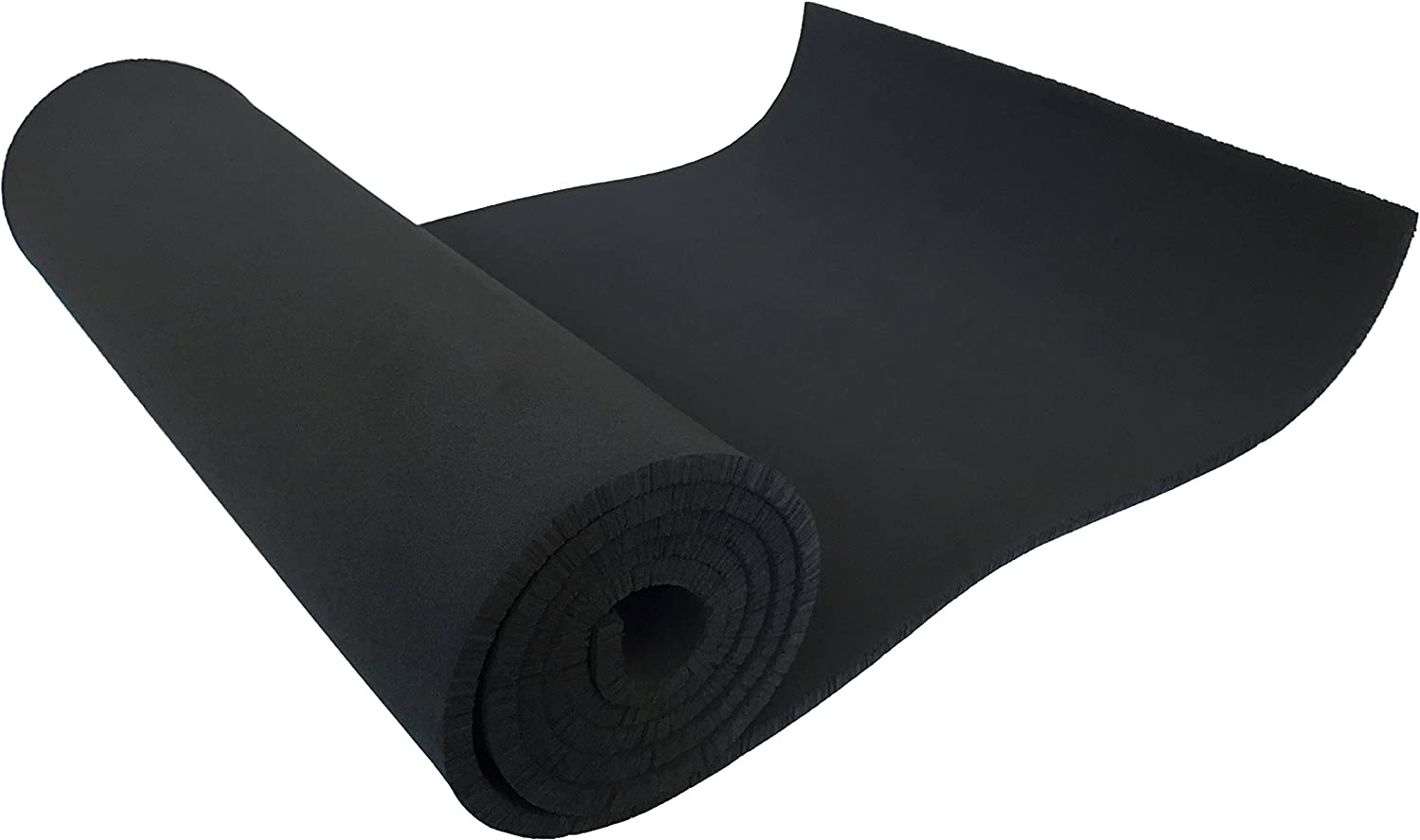 """Xcel Large Neoprene Foam Sheet - 54"""" Wide x 12"""" Length x 1/4"""" Soft/Medium for Cosplay, Costume, Padding, DIY, and Gaskets, Made in USA, Easy Cut Technology"""