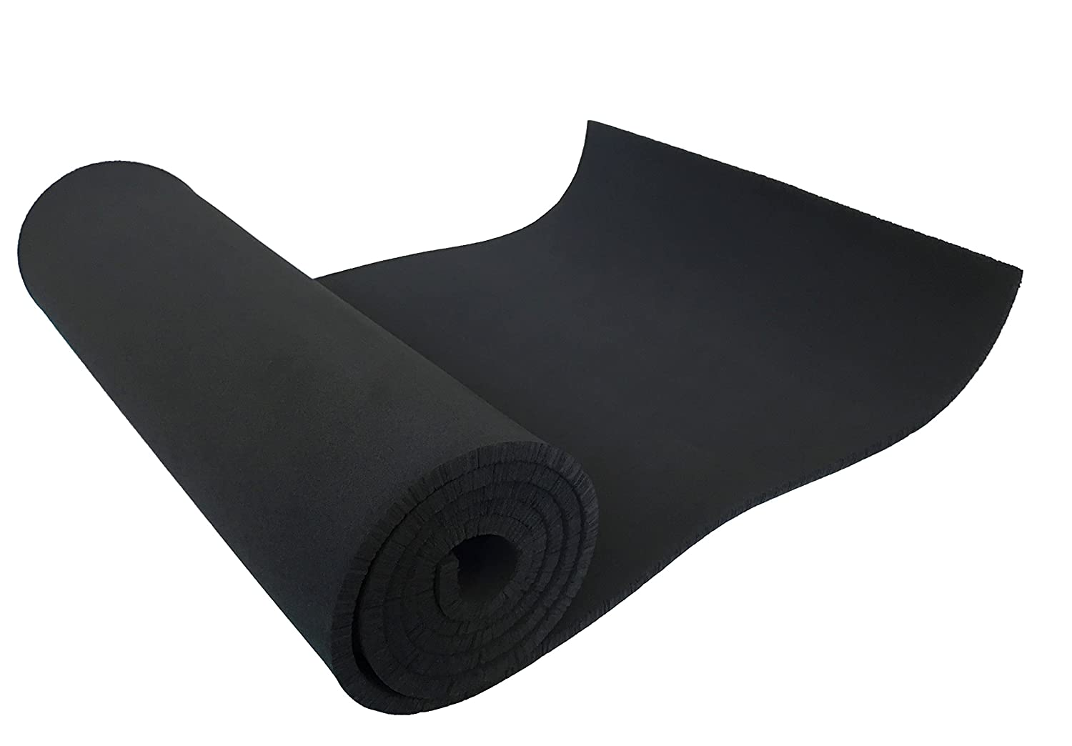 XCEL Neoprene Foam Sheet 54 Wide x 12 Length x 1 4 Soft Medium for Cosplay Costume Padding DIY and Gaskets