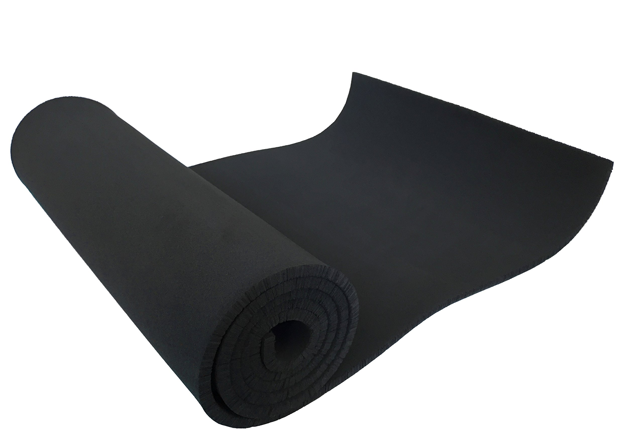 Xcel Large Neoprene Foam Sheet - 54'' Wide x 12'' Length x 1/4'' Soft/Medium for Cosplay, Costume, Padding, DIY, and Gaskets, Made in USA, Easy Cut Technology by Xcel
