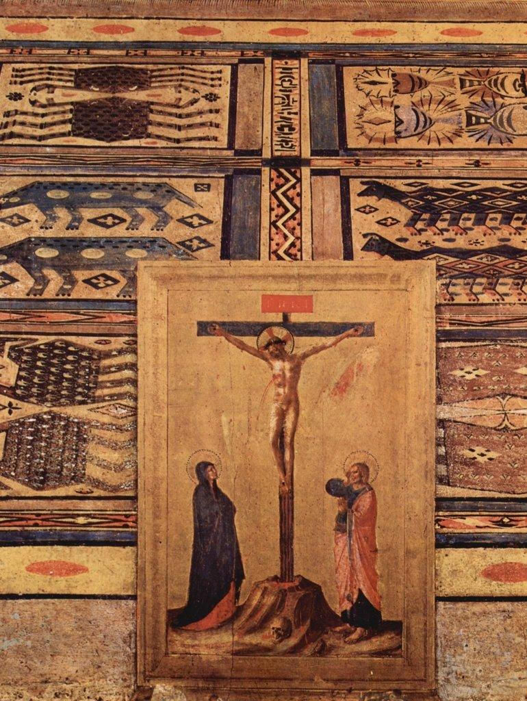 Lais Puzzle Fra Angelico - Kreuzigungsszene im Vordergrund 2000 Teile
