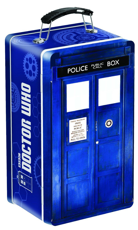 Doctor Who Tardis Shaped Tin Tote