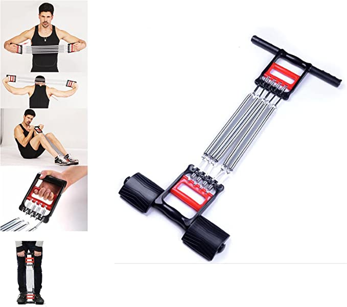 Chest Expander Spring Tension Muscle Exercise Fitness Gym Home Equipment Kids