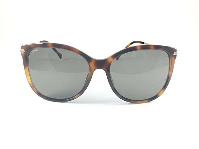 Loewe SLW947G6009AJ Gafas de sol, Shiny Brown Havana, 60 ...