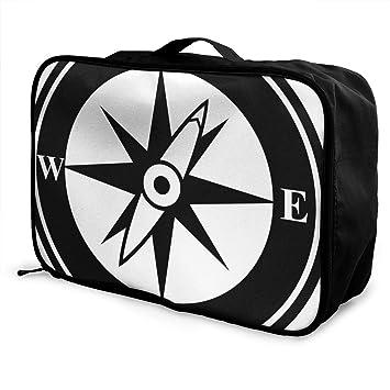 Amazon.com: Bolsas de viaje con pasador y asa para maleta ...