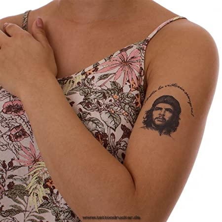 2 x Che Guevara Tatuaje- Hasta la Victoria Siempre! - Che Guevara ...