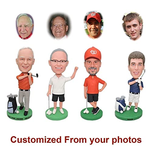 84b108f45c5 Custom Bobblehead Doll From Head To Toe - Personalized Sports Bobbleheads, Customized  Gifts for Men, Personalized Photo Gifts for Boyfriend Husband, Funny ...