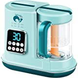 Baby Food Maker, BabyFood Processor Blender and Steamer, Multi-Function Baby Food Grinder Mills Machine, Auto Cooking, Fast H