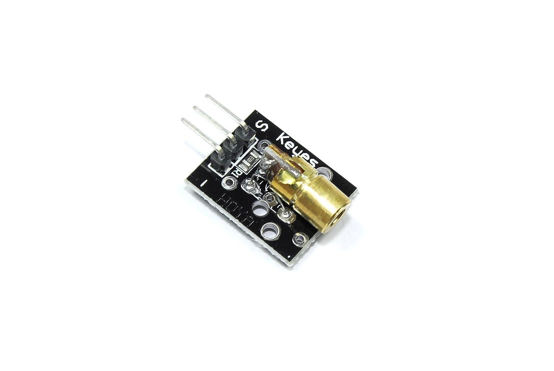 Keyes Mini 650nm 5mW Laser Dot Module KY-008 5V Arduino Raspberry