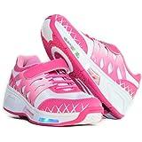 Usay like Envio 24H Zapatillas Con Ruedas Color Rosa Para Niña Chica Talla 30 hasta 38 Envio Desde España