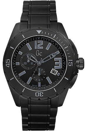 da993023e5 GUESS Collection X76010g2s, à Quartz pour Homme chronographe, Robe élégant,  Cristal Saphir,
