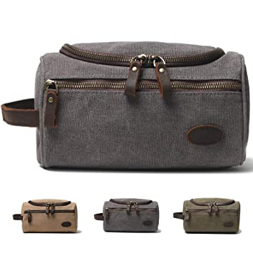 Olive Green Foldable Dopp Kit with Large Capacity for Men Hanging Toiletry Bag Maxchange Travel Toiletry Bag Travel Bathroom Organizer 4 Layers Portable Waterproof Makeup Bag for Women