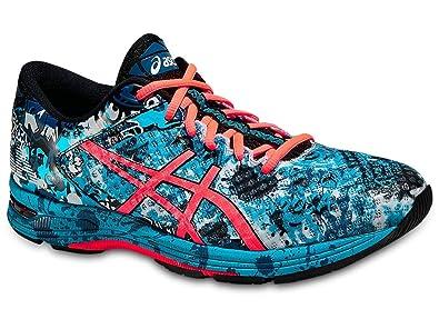 premium selection fa35e 9c8de ASICS Men s GEL Noosa Tri 11 Running Shoe, Island Blue Flash Coral Black