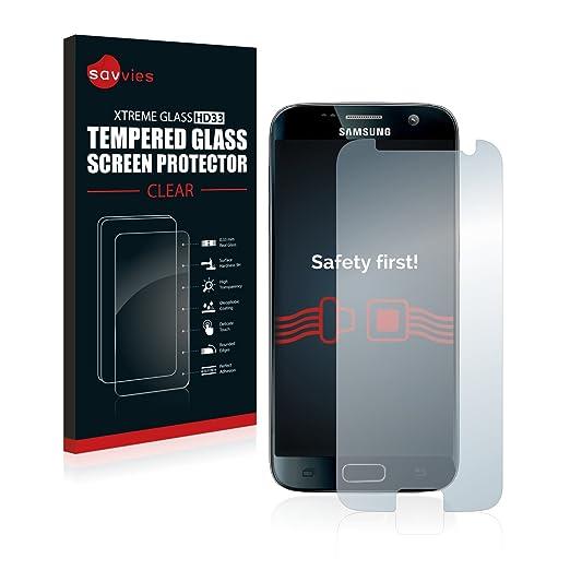 12 opinioni per Savvies Vetro Samsung Galaxy S7 Pellicola Vetro Temperato, Vetro Protettivo-