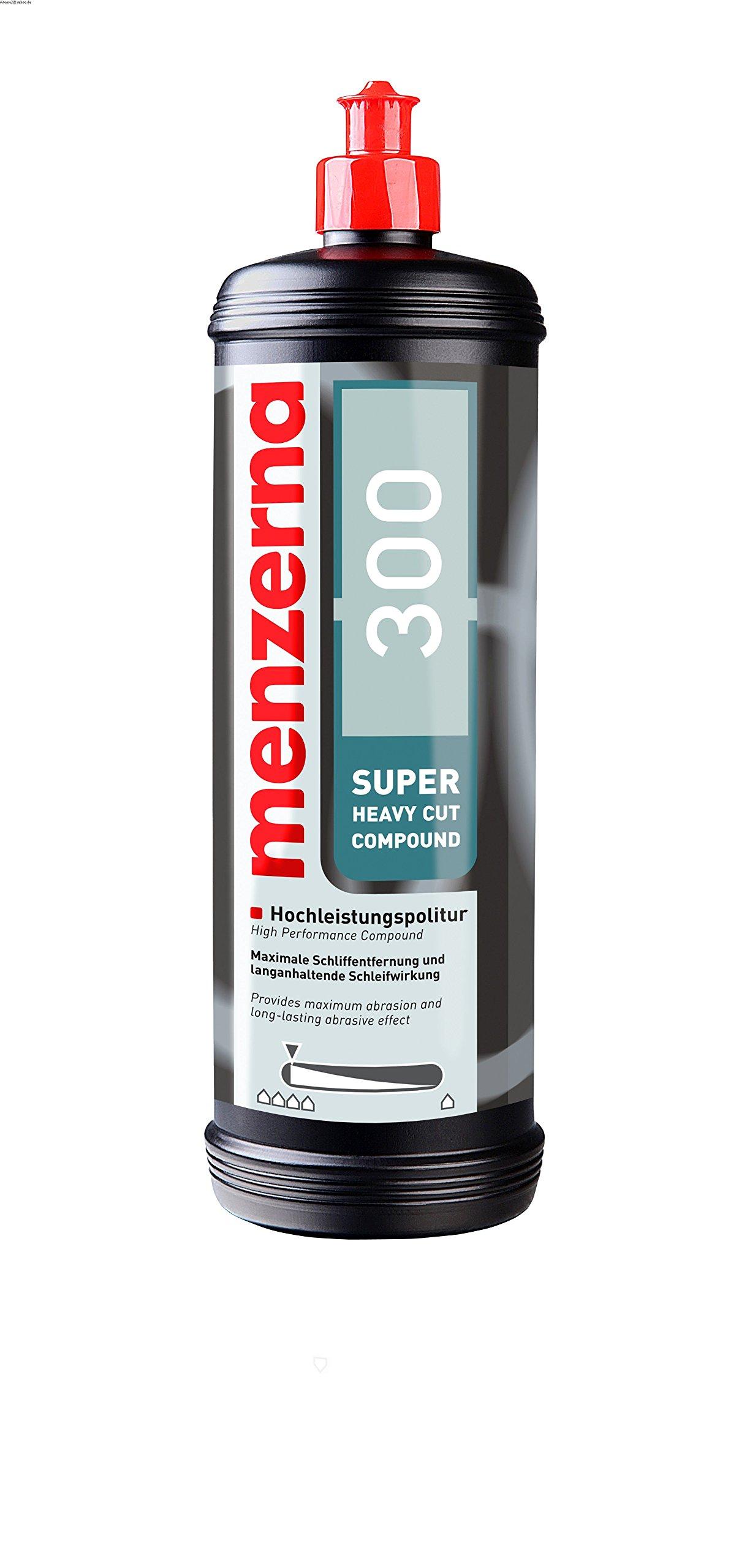 Menzerna SHC300Q - Super Heavy Cut Compound 300 Quart Bottle