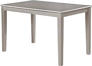 Roundhill Furniture Avignor Contemporary Simplicity Dining Table