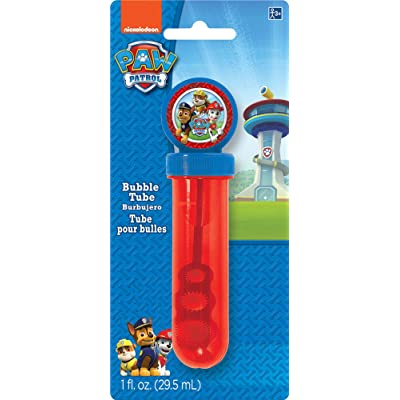 Paw Patrol Bubble Tube | Party Favor: Toys & Games