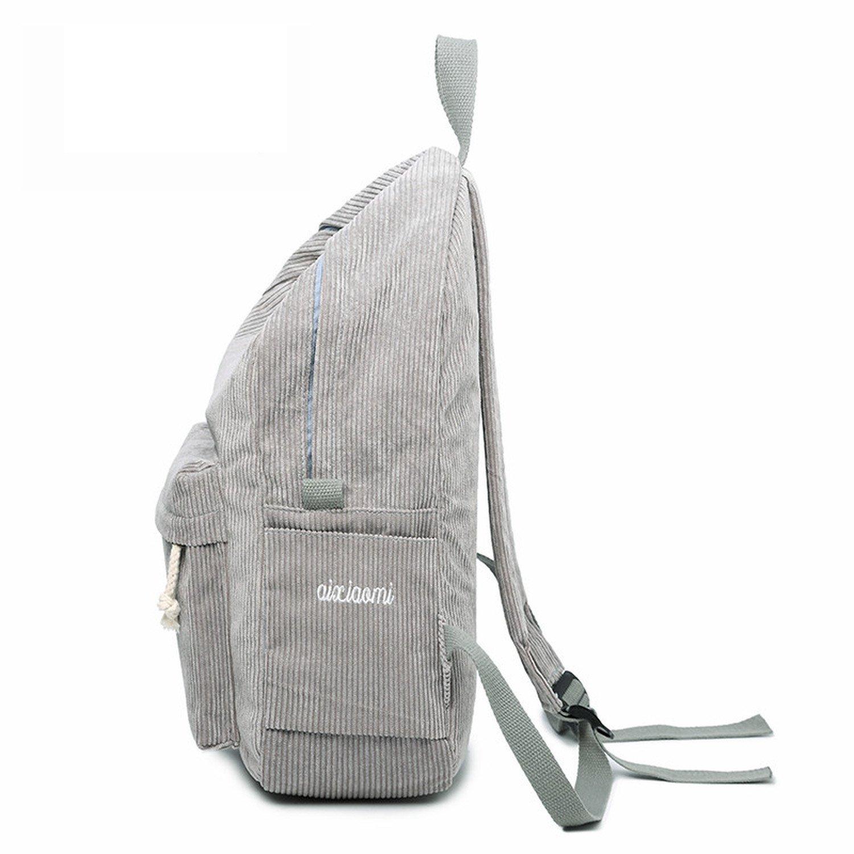 Amazon.com   Backpacks Women Nylon Backpack Softback Solid Bag Soft Handles Mujer Rucksack School Bag Girls Beige   Kids Backpacks