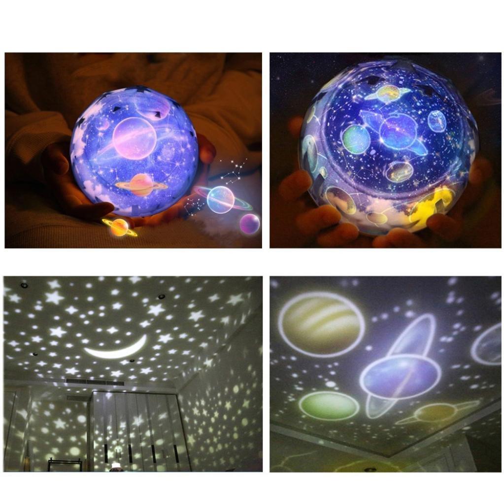 Sensail Lampe de projection, Romantique LED Projecteur Etoiles pour Enfant bon Cadeau