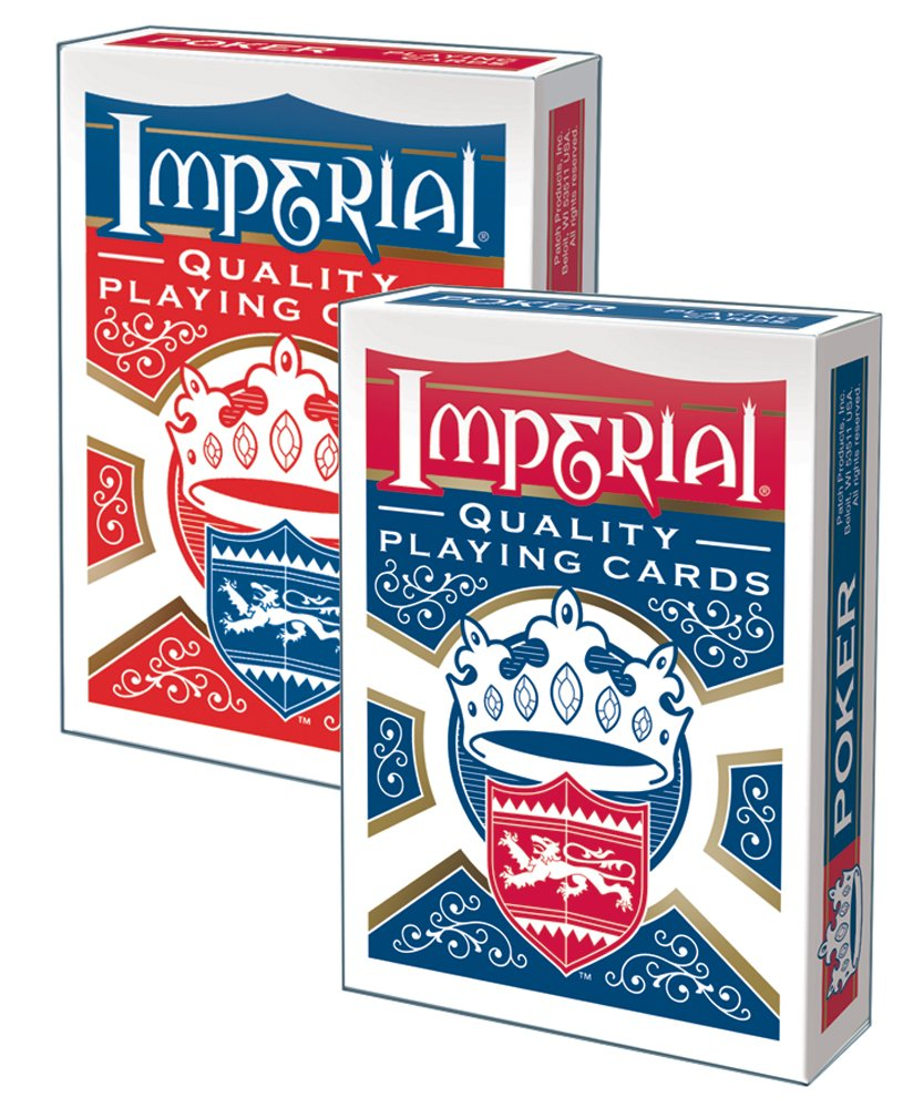 Imperial Poker Playing Cards Patch Products 1450